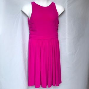 Ralph Lauren Hot pink sleeveless dress size 10 EUC